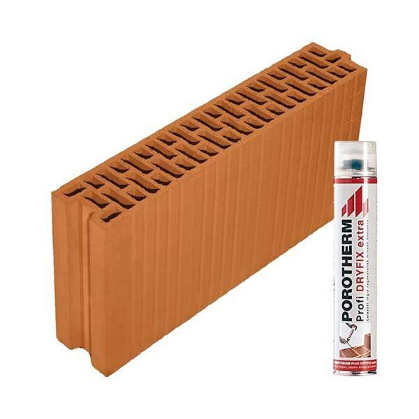 Porotherm Profi + Dryfix 10 N+F