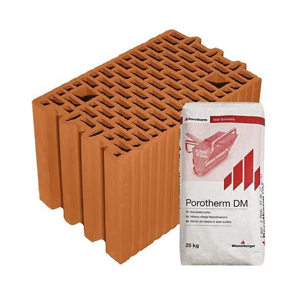Porotherm Profi + V.F.H. 25 N+ F