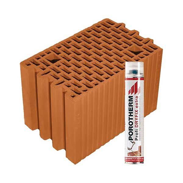 Porotherm Profi + Dryfix 25 N+F