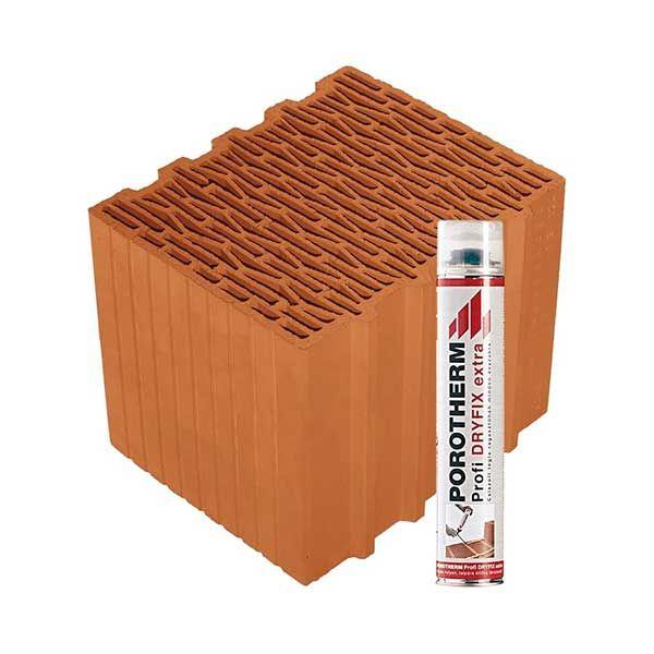 Porotherm Profi + Dryfix 30 Klíma
