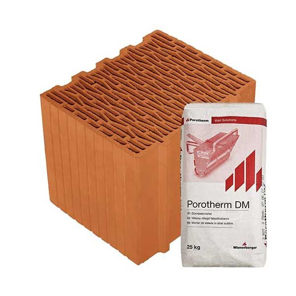 Porotherm Profi + V.F.H. 30 Klíma