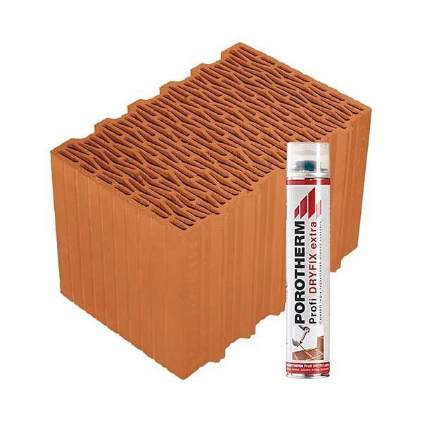 Porotherm Profi + Dryfix 38 Klíma