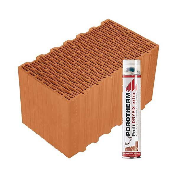 Porotherm Profi + Dryfix 44 Klíma